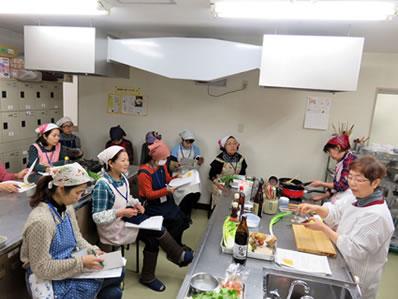いんやん倶楽部の料理教室 〜「重ね煮」で養生家庭料理〜(2016/2)