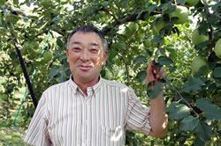 生産者紹介(4) 気候変動に負けず りんご作り