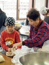 手作りみそ教室/主催:よつば農産 〜家族で食を話し合う機会に〜(2016/1)