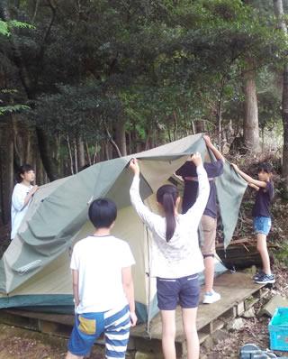 よつば関西保養キャンプ・準備編(2017/7/31 能勢)