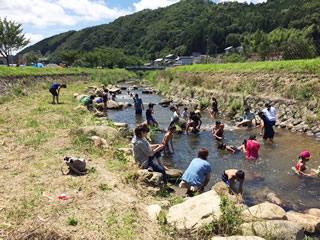 よつば関西保養キャンプ・3日目(2017/8/3 能勢)