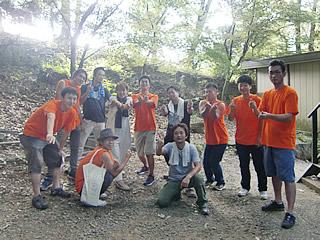 よつば関西保養キャンプ・最終日(2017/8/6 能勢)