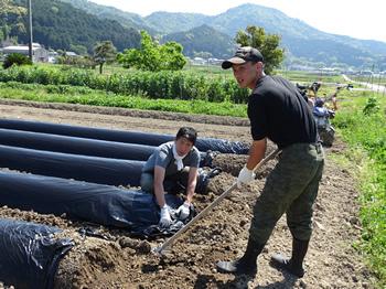 春日・丹波協同農場体験交流会(19/5/11)