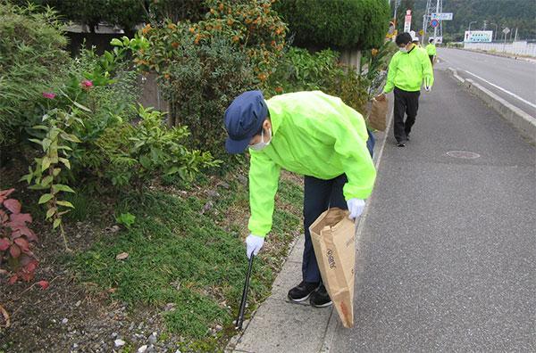 地域とつながる清掃活動
